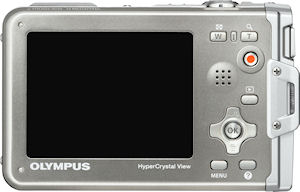 Olympus' Stylus Tough-8010 digital camera. Photo provided by Olympus Imaging America Inc. Click for a bigger picture!