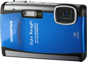 Olympus' Stylus Tough-6000 digital camera. Photo provided by Olympus Imaging America Inc. Click for a bigger picture!