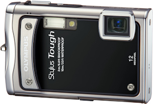 Olympus' Stylus Tough-8000 digital camera. Photo provided by Olympus Imaging America Inc. Click for a bigger picture!