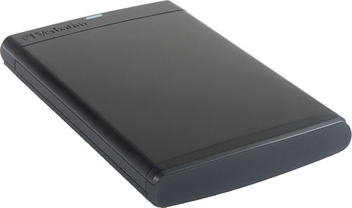 Verbatim's SureFire portable hard disk. Photo provided by Verbatim Americas LLC. Click for a bigger picture!