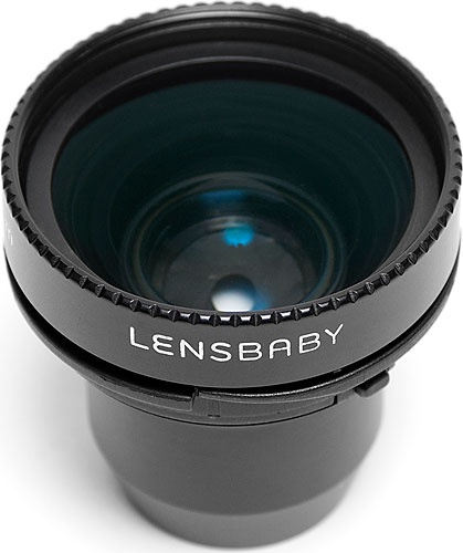 The Lensbaby Sweet 35 Optic. Photo provided by Lensbaby Inc. Click for a bigger picture!