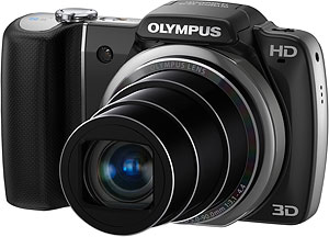 Olympus' SZ-10 digital camera. Photo provided by Olympus Imaging America Inc. Click for a bigger picture!