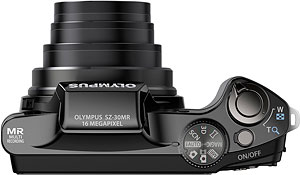 Olympus' SZ-30MR digital camera. Photo provided by Olympus Imaging America Inc. Click for a bigger picture!