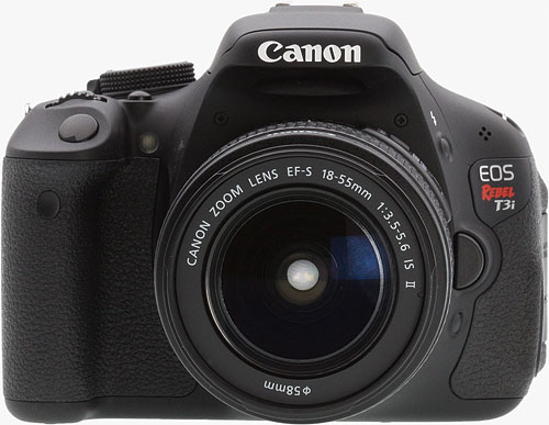 The Canon EOS Rebel T3i digital SLR. Photo copyright ©2011, Imaging Resource. All rights reserved. Click for a bigger picture!