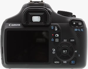 The Canon EOS Rebel T3 digital SLR. Photo copyright ©2011, Imaging Resource. All rights reserved. Click for a bigger picture!