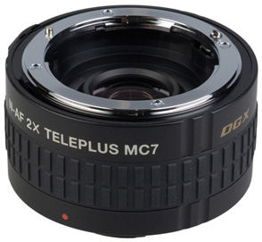 The Kenko TelePlus MC7 AF 2.0x DGX teleconverter. Photo provided by THK Photo Products Inc.