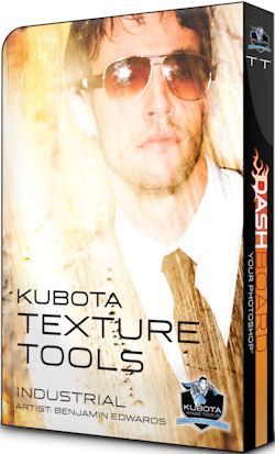 Kubota's new Industrial Texture Tools pak. Rendering provided by Kubota Photo Design Inc. All rights reserved. Click for a bigger picture!