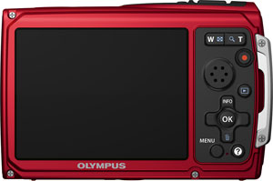 Olympus' Tough TG-310 digital camera. Photo provided by Olympus Imaging America Inc. Click for a bigger picture!