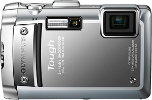 Olympus' Tough TG-810 digital camera. Photo provided by Olympus Imaging America Inc. Click for a bigger picture!