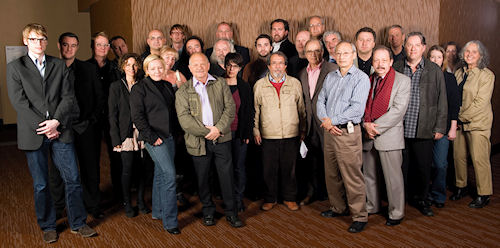 Group photo from the TIPA General Assembly in New York. Photo provided by the Technical Image Press Association. Click for a bigger picture!