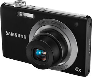 Samsung's TL105 digital camera. Photo provided by Samsung Electronics America Inc. Click for a bigger picture!