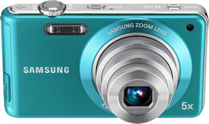 Samsung's TL110 digital camera. Photo provided by Samsung Electronics America Inc. Click for a bigger picture!