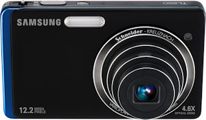 Samsung's TL220 digital camera. Photo provided by Samsung Electronics America Inc. Click for a bigger picture!