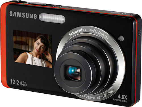 Samsung's TL225 digital camera. Photo provided by Samsung Electronics America Inc. Click for a bigger picture!