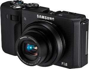 Samsung's TL500 digital camera. Photo provided by Samsung Electronics America Inc. Click for a bigger picture!
