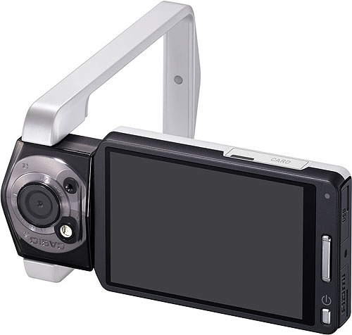 Casio's TRYX digital camera. Photo provided by Casio America Inc. Click for a bigger picture!