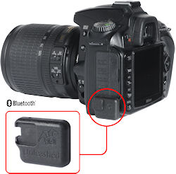 The Unleashed D90 module mounted on a Nikon D90 body. Image provided by Foolography GmbH. Click for a bigger picture!