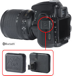 The Unleashed Dx000 module on a Nikon D5000 body. Image provided by Foolography GmbH. Click for a bigger picture!