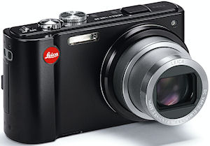 Leica's V-LUX 20 digital camera. Photo provided by Leica Camera AG. Click for a bigger picture!