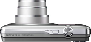 Olympus' VG-120 digital camera. Photo provided by Olympus Imaging America Inc. Click for a bigger picture!
