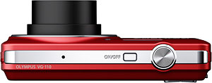 Olympus' VG-110 digital camera. Photo provided by Olympus Imaging America Inc. Click for a bigger picture!