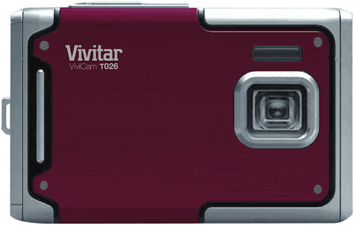 Vivitar's ViviCam T026 digital camera. Photo provided by Vivitar. Click for a bigger picture!