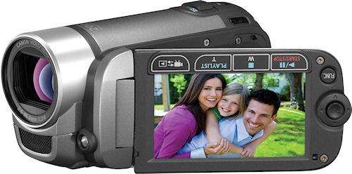 Canon's VIXIA FS31 camcorder. Photo provided by Canon. Click for a bigger picture!