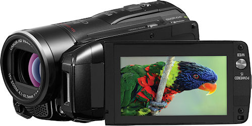 Canon's VIXIA HF M31 camcorder. Photo provided by Canon. Click for a bigger picture!
