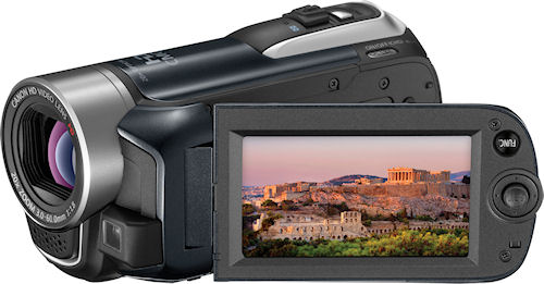 Canon's VIXIA HF R11 camcorder. Photo provided by Canon. Click for a bigger picture!