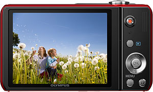 Olympus' VR-330 digital camera. Photo provided by OLYMPUS Europa Holding GmbH. Click for a bigger picture!