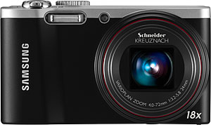 Samsung's WB700 digital camera. Photo provided by Samsung Electronics Co. Ltd. Click for a bigger picture!