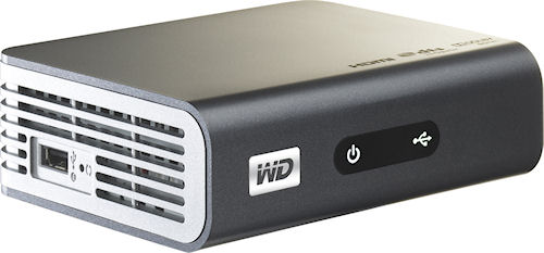 WD's TV Live HD Media Player. Photo provided by Western Digital Corp. Click for a bigger picture!