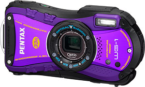 Pentax's Optio WG-1 digital camera. Photo provided by Pentax Imaging Co. Click for a bigger picture!