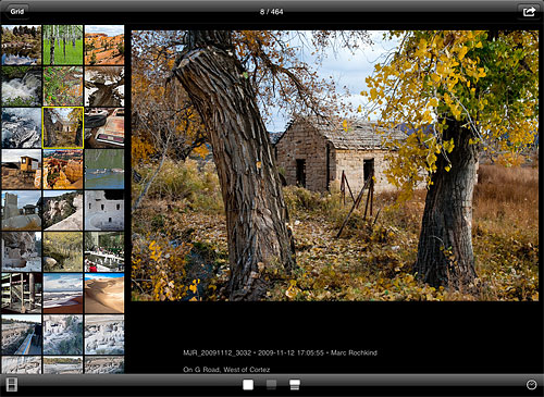 WidePhotoViewer's user interface. Screenshot provided by Basepath Associates. Click for a bigger picture!