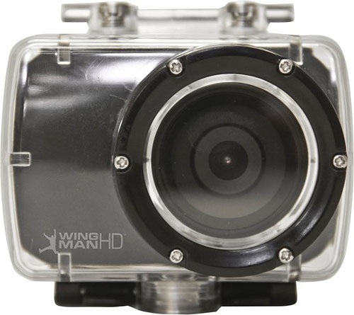 The Delkin WingmanHD camera in its waterproof housing. Photos provided by Delkin Devices Inc. Click for a bigger picture!