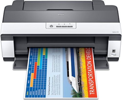 Epson's Workforce 1100 printer. Photo provided by Epson America Inc. Click for a bigger picture!