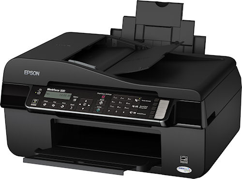 Epson's Workforce 520 All-in-One. Photo provided by Epson America Inc. Click for a bigger picture!