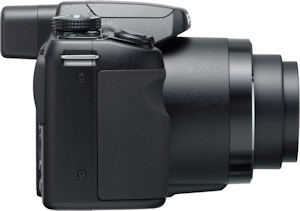 Pentax's X70 digital camera. Photo provided by Pentax Imaging Co. Click for a bigger picture!