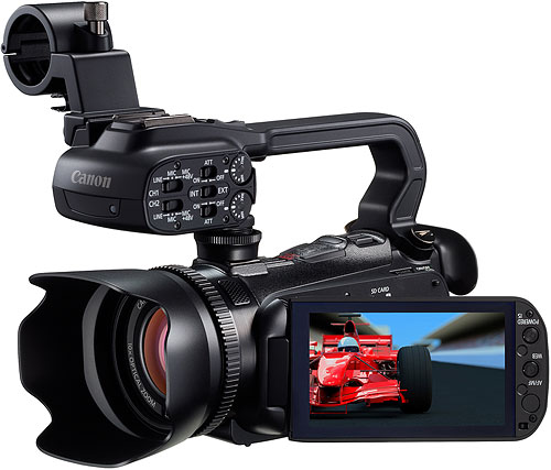 Canon's XA10 Professional camcorder. Photo provided by Canon USA Inc. Click for a bigger picture!