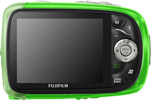 Fujifilm's FinePix XP10 digital camera. Photo provided by Fujifilm North America Corp. Click for a bigger picture!