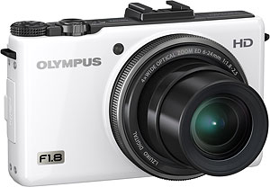 Olympus' XZ-1 digital camera. Photo provided by Olympus Imaging America Inc. Click for a bigger picture!