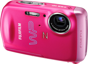 Fujifilm's FinePix Z33WP digital camera. Photo provided by Fujifilm USA Inc. Click for a bigger picture!