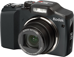 Kodak's EasyShare Z915 digital camera. Photo provided by Eastman Kodak Co. Click for a bigger picture!