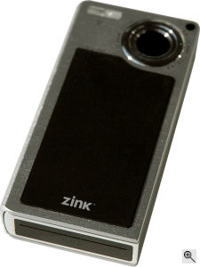 Zink's unnamed printer camera. Courtesy of Zink, with modifications by Michael R. Tomkins. Click for a bigger picture!