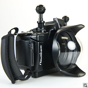 Nauticam NA-NEX5 Housing. Click for a larger image.