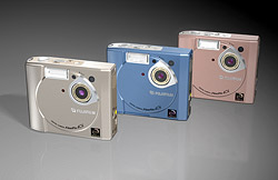 Fuji's FinePix 40i digital camera / MP3 player combo
