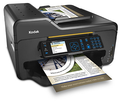Kodak's ESP 9 All-in-One Printer. Photo provided by Eastman Kodak Co.