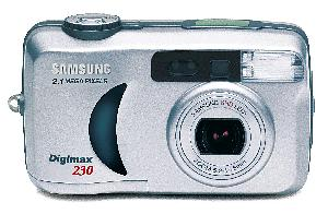 Digimax 230. Courtesy of Samsung. Click for larger image.