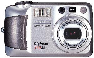 Digimax 350SE. Courtesy of Samsung. Click for larger image.