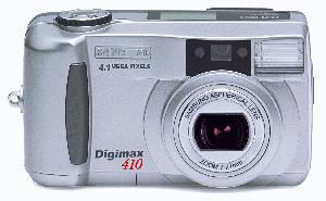 Digimax 410. Courtesy of Samsung. Click for larger image.